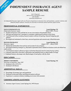 Cover Letter Examples Executive Assistant Independent Insurance Agent Resume Sample Resume Writing