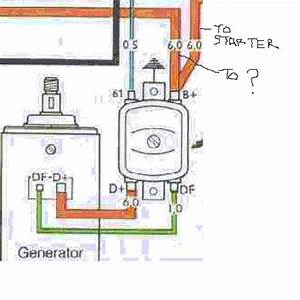 1970 Vw Beetle Voltage Regulator Wiring Diagram