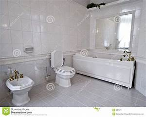 salle de bains blanche image stock image 4276711 With salle de bains blanche