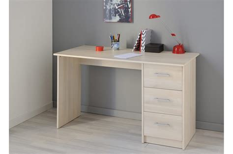bureau vituel bureau de chambre bois acacia clair trendymobilier com