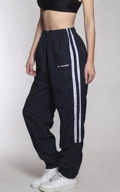 Vintage Adidas Wind Pants Outfit Ideas