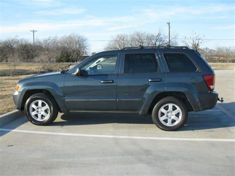 blue grey jeep cherokee sell used blue gray 2008 jeep grand cherokee laredo 4x4