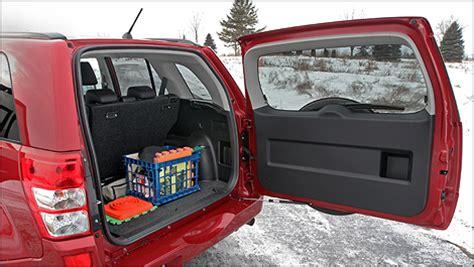 volume coffre grand vitara 5 portes suzuki drummondville suzuki grand vitara 2010 essaie routier auto123