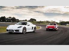 Porsche 718 Cayman S vs Cayman GTS NZ comparison test 2017