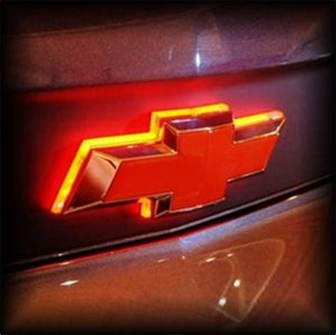 light up chevy emblem led chevy emblem in grill s 10 forum