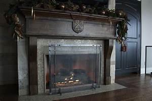 Freestanding, Fireplace, Screens