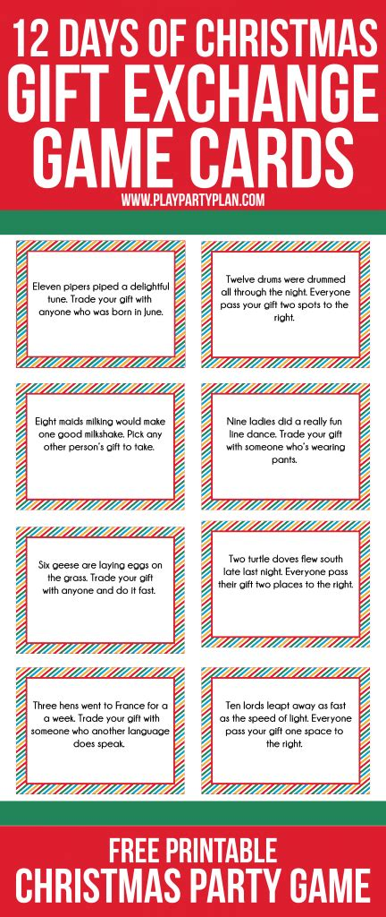 love this fun twist on traditional gift exchange games