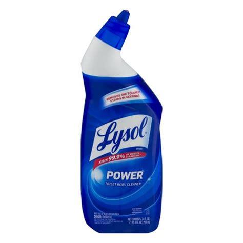 lysol power bathroom cleaner pink bottle lysol power toilet bowl cleaner hy vee aisles