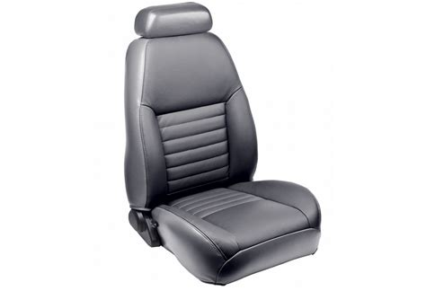 Tmi Mustang Coupe Full Front & Rear Sport Leather Seat