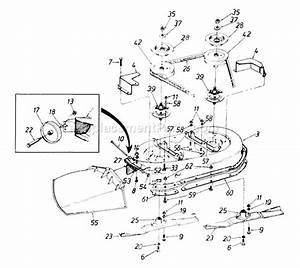Mtd 136o675g062 Parts List And Diagram