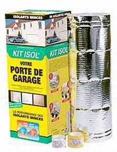 Kit Isolation Porte De Garage : isolation porte de garage kit isol ~ Nature-et-papiers.com Idées de Décoration
