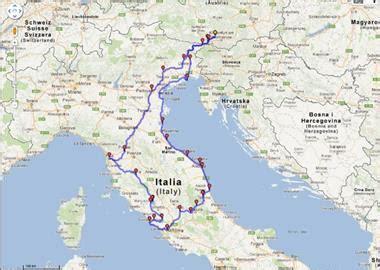 motorrad touren abruzzen italien