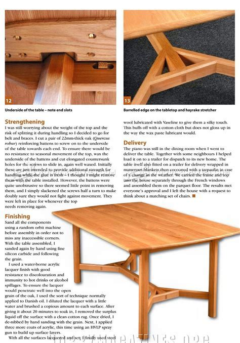 Hayrake Table Plans ? WoodArchivist