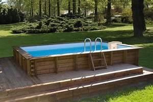 piscine bois hors sol leroy merlin With leroy merlin piscine bois 1 installer une mini piscine