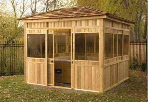 There are chances that you may not agree with our list. Cedar Spa Enclosure For Hot Tub Privacy / design bookmark #25060