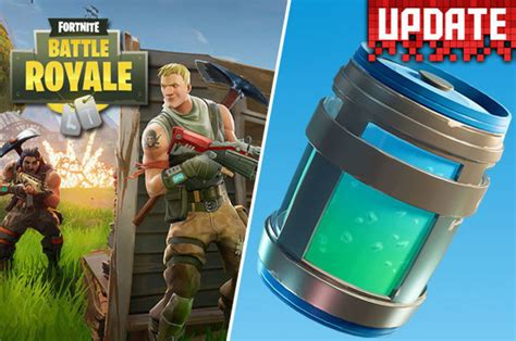 fortnite battle royale update  patch notes