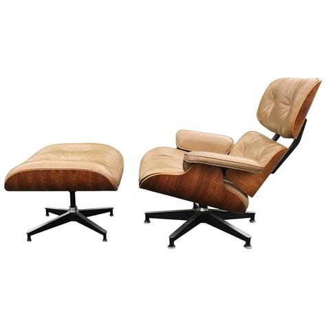 rosewood and herman miller eames lounge chair and