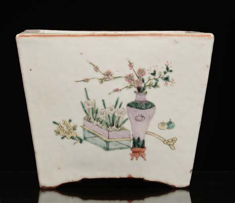 giardiniere genova giardiniere in porcellana famiglia rosa a sezione quadrata