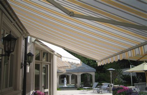 motorized awnings rolltec retractable awnings toronto ontario canada