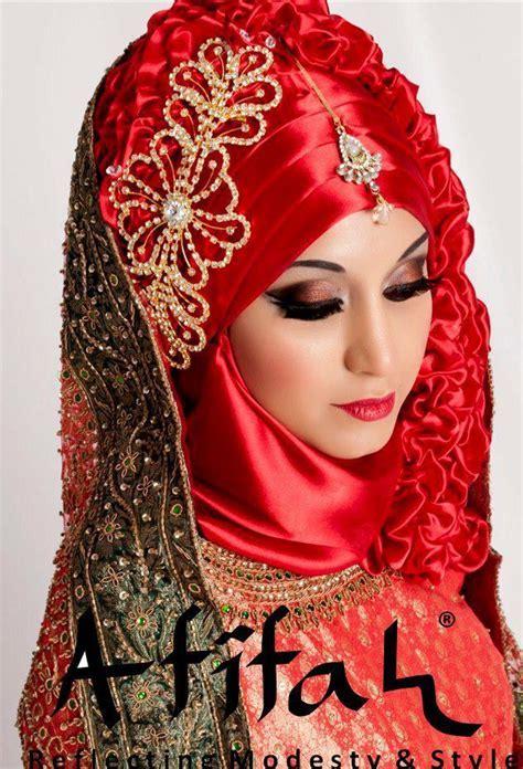 How To Wear Hijab For Wedding 2015   HijabiWorld