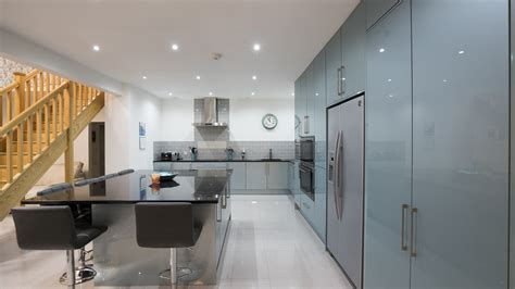 Floor To Ceiling Cupboards by Kitchen Installation Gallery Cleveland Kitchens