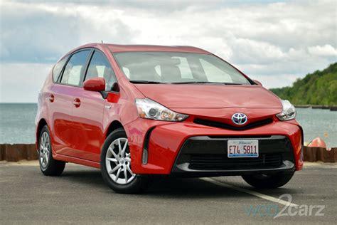 2015 Toyota Prius V Four Review