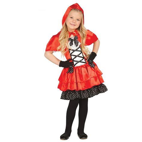 Disfraz Caperucita Roja topos para niña Dresoop