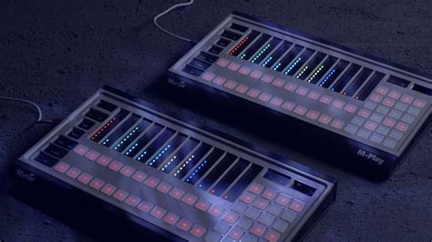 martin m touch martin m play m touch lighting controllers