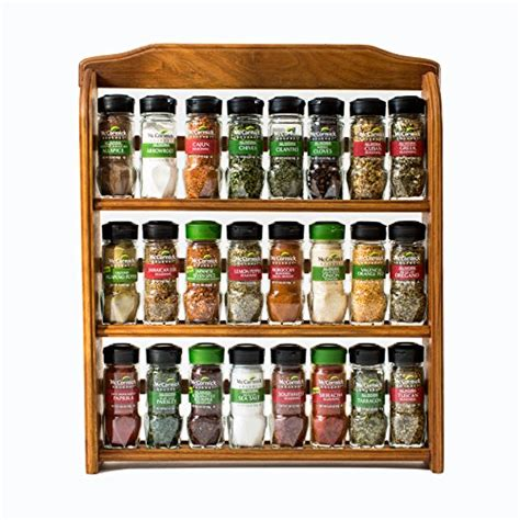 mccormick spice rack best mccormick gourmet wood spice rack reviews from kempimages