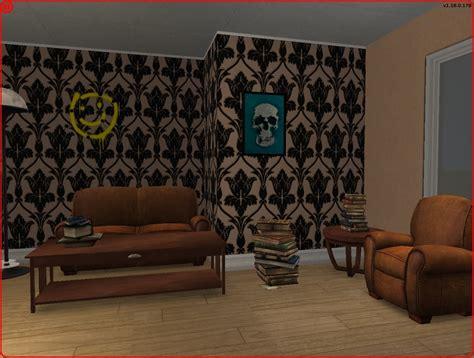 Sherlock Living Room Wallpaper sherlock living room wallpaper studio design gallery