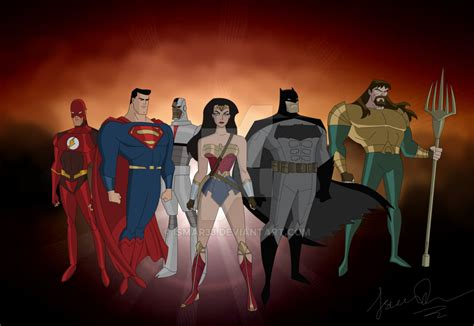 Justice League Animated Wallpaper - justice league 2017 animated version by ismar33 on