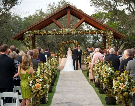 outdoor small wedding venues the best