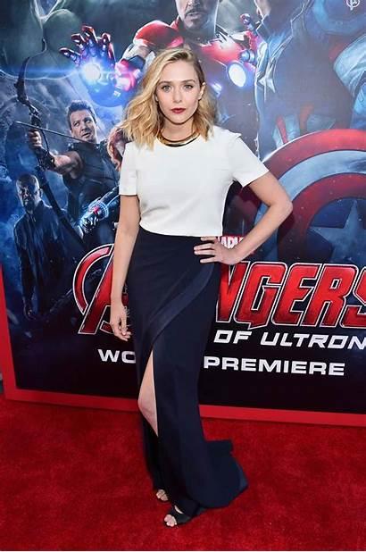 Olsen Elizabeth Avengers Ultron Age Premiere Marvel
