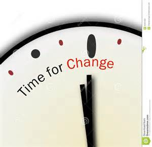 Its Time for Change