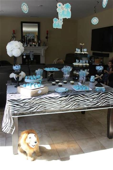 safari themed surprise baby shower baby shower ideas