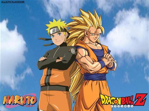 Uzumaki naruto wallpaper, naruto shippuuden, manga, anime, anime boys. Naruto and Goku Wallpaper - WallpaperSafari