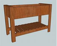 raised planter box plans Ana White | Raised Planter Box - DIY Projects