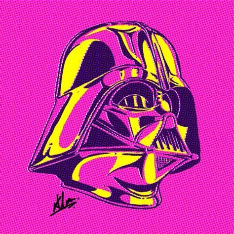 Retro Star Wars Pop Art Sci Fi Design