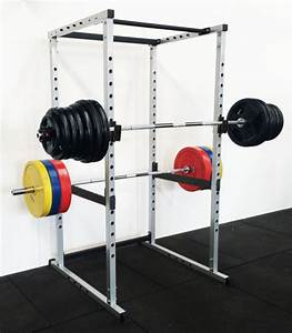 Power Rack Squat Cage Crossfit Stands Pull Up Home Gym Strength Rack Grey Color For Sale Online