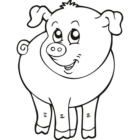farm animal drawings clipartsco