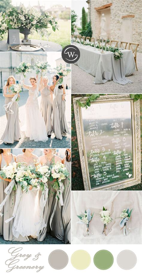 10 summer wedding color palettes for