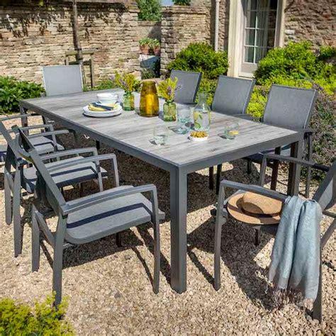 fibreline 8 seat dining set in platinum 163 990