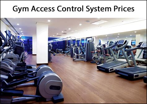compare  average gym access control system costs