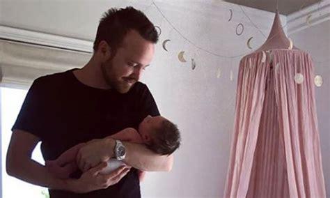 aaron paul mother breaking bad s aaron paul reveals unusual name for baby