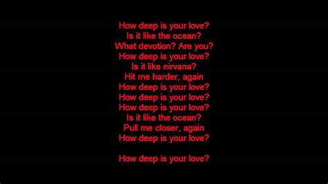 Calvin Harris Feat Disciples  How Deep Is Your Love