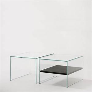 Petite Table En Verre : petite table basse verre maison design ~ Teatrodelosmanantiales.com Idées de Décoration