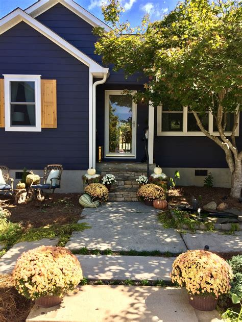 charcoal blue  sherwin williams exterior   beautiful