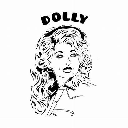 Dolly Parton Shirt Teepublic Illustration Hello