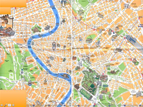 map  rome italy lucky
