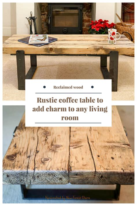 Perhaps it's because sleek, carefully curated spaces demand the thoughtful placement of decor. This modern rustic coffee table displays exquisite workmanship whilst retaining simplicity and ...